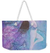 Music Only She Can Hear Weekender Tote Bag