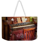 Music - Organist - Playing The Songs Of The Gospel  Weekender Tote Bag