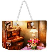 Music - Piano - The Music Room Weekender Tote Bag