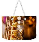 Music - Sax - Sweet Jazz  Weekender Tote Bag by Mike Savad