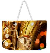 Music - Sax - Very Saxxy Weekender Tote Bag