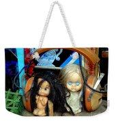Music Sharing Weekender Tote Bag