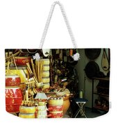 Music Shop Weekender Tote Bag