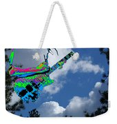Music Up In The Clouds Weekender Tote Bag