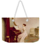 Music When Soft Voices Die, Vibrates Weekender Tote Bag