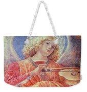 Musical Angel With Violin Weekender Tote Bag