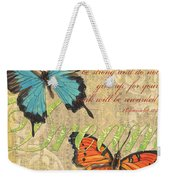 Musical Butterflies 1 Weekender Tote Bag