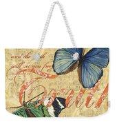 Musical Butterflies 3 Weekender Tote Bag