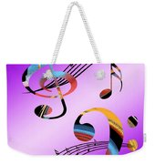 Musical Illusion Weekender Tote Bag