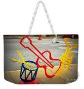 Musical Instruments Bike Rack Weekender Tote Bag