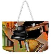 Musical Instruments With Keyboards Weekender Tote Bag
