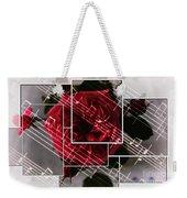 Musical Rose Montage Weekender Tote Bag