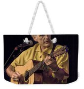 Musician And Songwriter Verlon Thompson Weekender Tote Bag