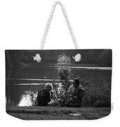 Musicians By The Pond Weekender Tote Bag