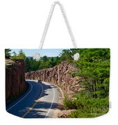 Muskoka Drive Through Weekender Tote Bag