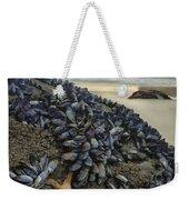 Mussel Beach Weekender Tote Bag