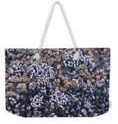 Mussels And Barnacles, Low Tide Weekender Tote Bag