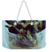 Mussels In Broth Weekender Tote Bag