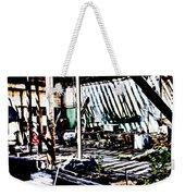 Must Love Junk Weekender Tote Bag