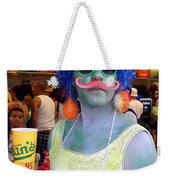 Mustache Merman Weekender Tote Bag