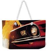 Mustang '70 Weekender Tote Bag