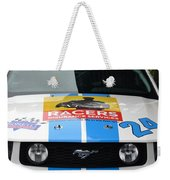 Mustang Race Car Weekender Tote Bag