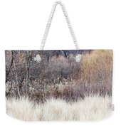 Muted Colors Of Winter Forest Weekender Tote Bag