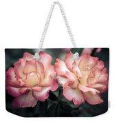 Muted Pink Roses Weekender Tote Bag