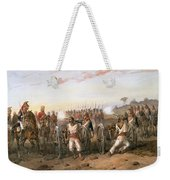 Mutineers About To Be Blown From Guns Weekender Tote Bag