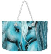 Mutual Companions- Fine Art Horse Artwork Weekender Tote Bag
