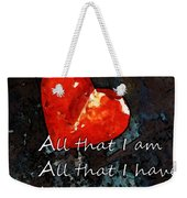 My All - Love Romantic Art Valentine's Day Weekender Tote Bag