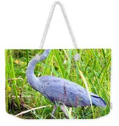 My Blue Heron Weekender Tote Bag by Greg Fortier