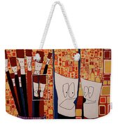 My Brushes Are Talking About Me Weekender Tote Bag