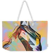 My Colorful Ballerina  Weekender Tote Bag