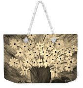 My Daisies Sepia Version Weekender Tote Bag