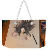 My Drawing Of A Beauty Coming Alive Weekender Tote Bag