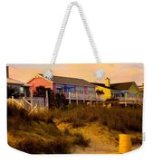 My Feet In The Sand At Isle Of Palms Weekender Tote Bag