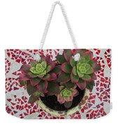 My Garden Series - Mosaica Weekender Tote Bag