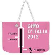 My Giro D' Italia Minimal Poster Weekender Tote Bag