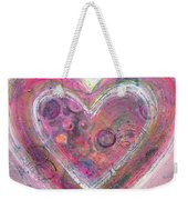 My Glittering Heart Weekender Tote Bag