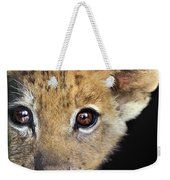 My Grandma What Big Eyes You Have African Lion Cub Wildlife Rescue Weekender Tote Bag