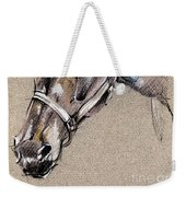 My Horse Portrait Drawing Weekender Tote Bag
