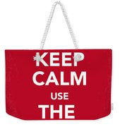 My Keep Calm Star Wars - Rebel Alliance-poster Weekender Tote Bag