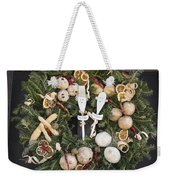 My Lady And His Lordship Wreath Weekender Tote Bag
