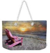 My Life As A Beach Chair Weekender Tote Bag