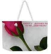 My Love To Keep You Warm Weekender Tote Bag