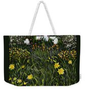 My Neighbor's Garden Weekender Tote Bag