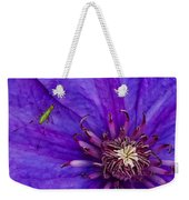 My Old Clematis Home Weekender Tote Bag