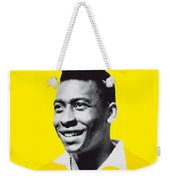 My Pele Soccer Legend Poster Weekender Tote Bag