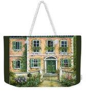 My Pink Italian Villa Weekender Tote Bag